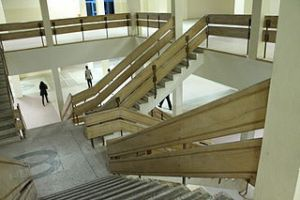 Kobebigs: Faculty of Education Lecture Theatre -stairway